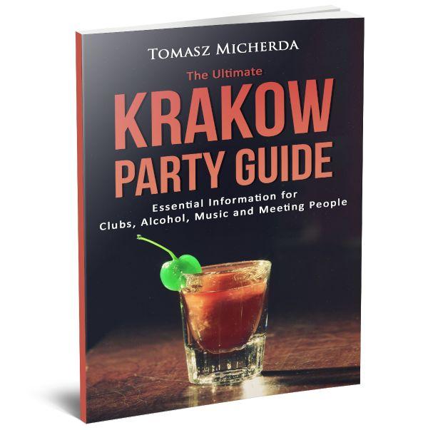Moja pierwsza książka na Amazonie - Krakow Party Guide