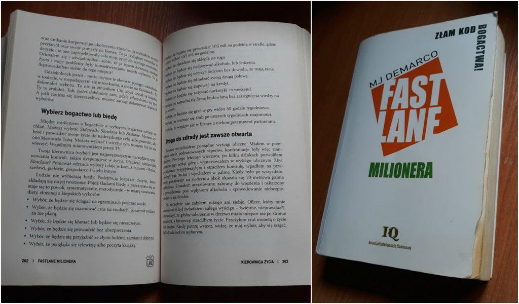 Fastlane Milionera - recenzja książki.