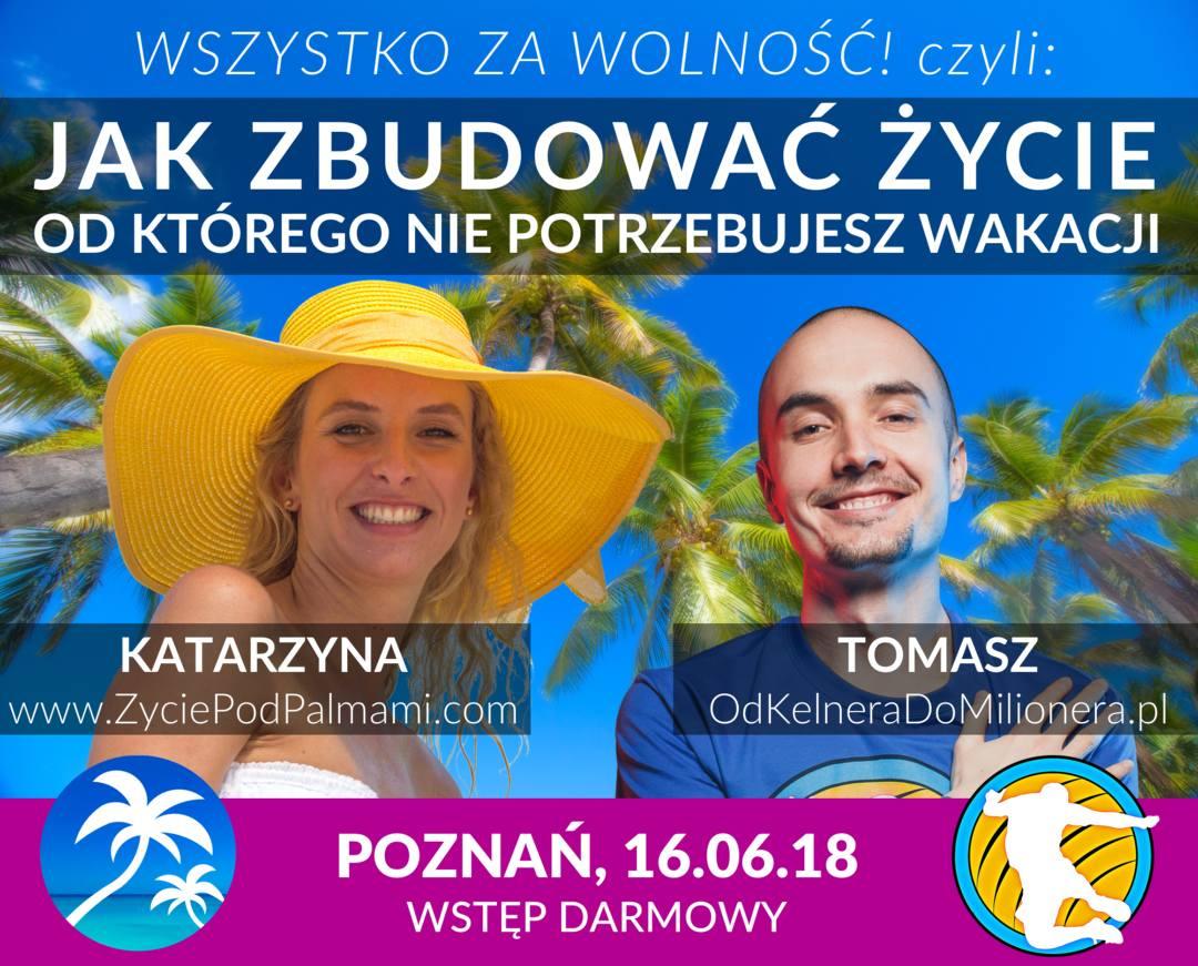 Życie pod Palmami i Kelnera Do Milionera - Spotkanie w Poznaniu