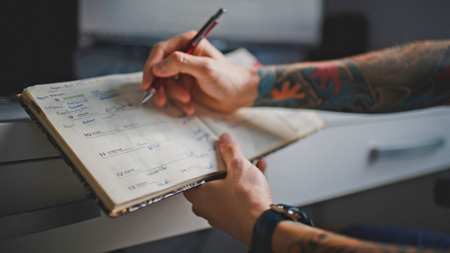 Poranne rytuały - zapisuj swoje cele każdego dnia