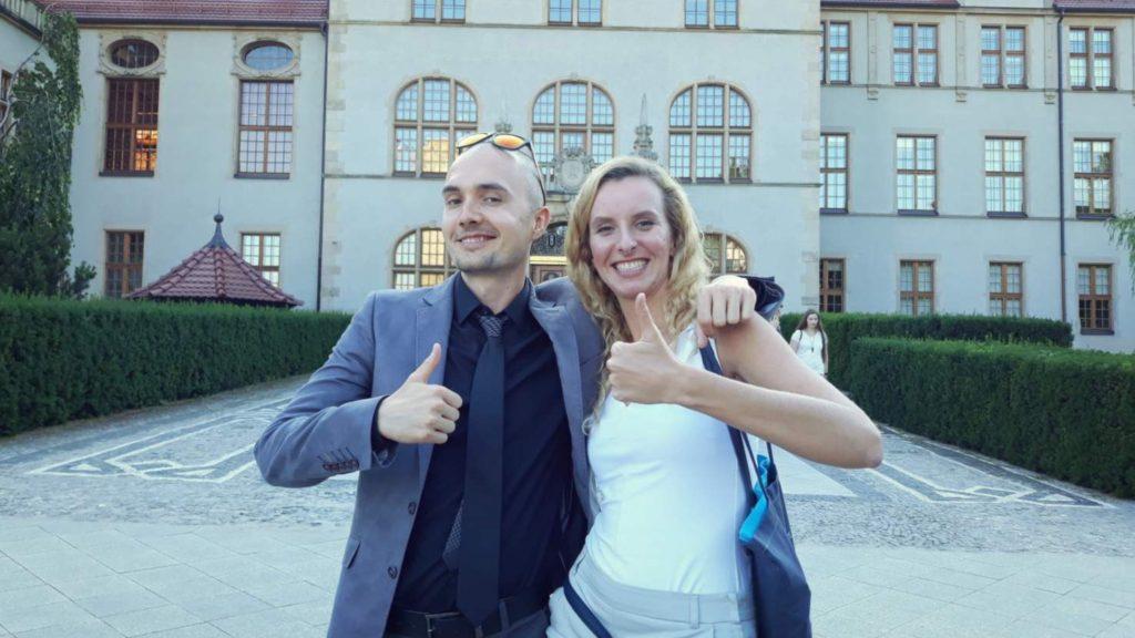Spotkanie w Poznaniu i Katarzyna z bloga Życie Pod Palmami