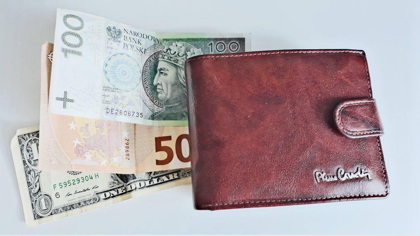 Pusty portfel to problem znany od wieków. Zasady zarabiania, gromadzenia i pomnażania pieniędzy nie zmieniły się również od wieków. Na zdjęciu widać mój portfel