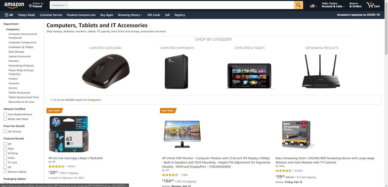 Amazon FBA i sprzedaż produktów fizycznych