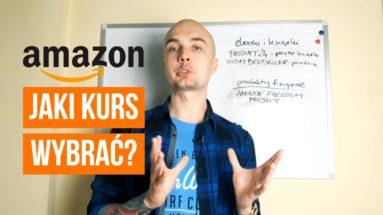 Jaki kurs Amazona wybrać? Książki, eBooki i Amazon FBA