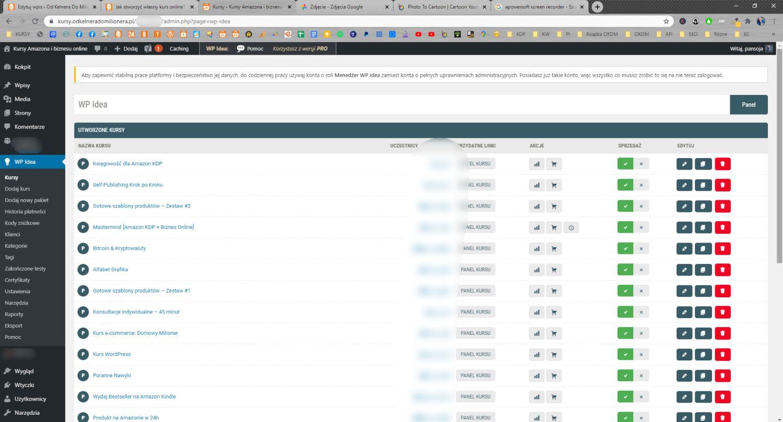 Mój sklep internetowy od zaplecza, czyli wtyczka WpIdea oparta na platformie WordPress