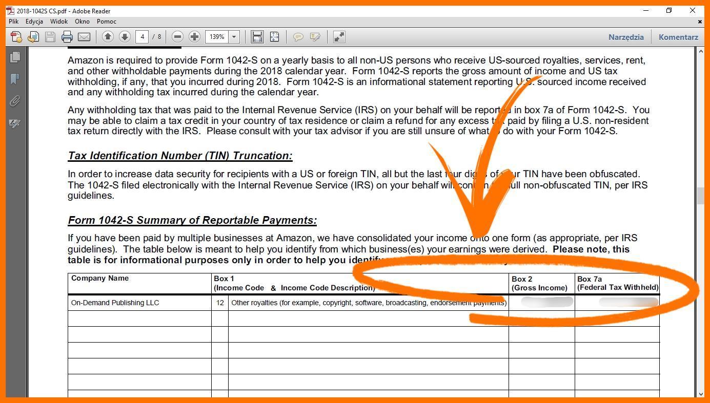 Sprzedaż książek na Amazon (Kindle Direct Publishing) - rozliczanie i podatki