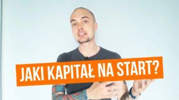 Pierwszy biznes online - kapitał na start
