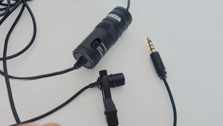 Mikrfon Boya BY-M1 - idealny na potrzeby nagrywania kursu online oraz filmów na bloga