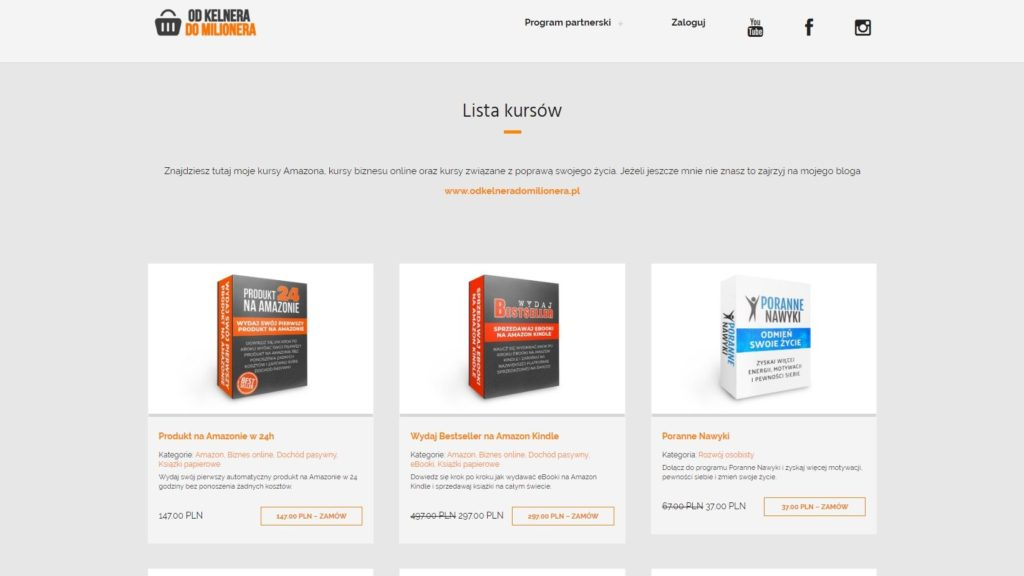 Platforma do kursów online WpIdea