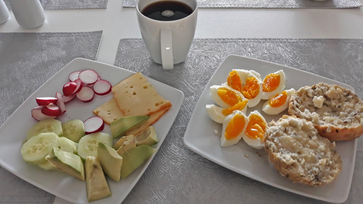 Produktywny dzień - moje śniadanie