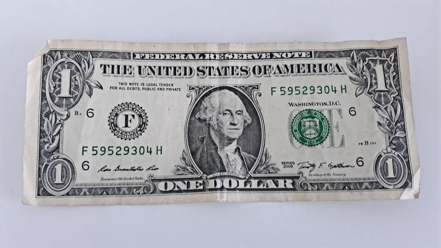 Moja inspiracja, czyli 1 dolar napiwku otrzymany lata temu w restauracji