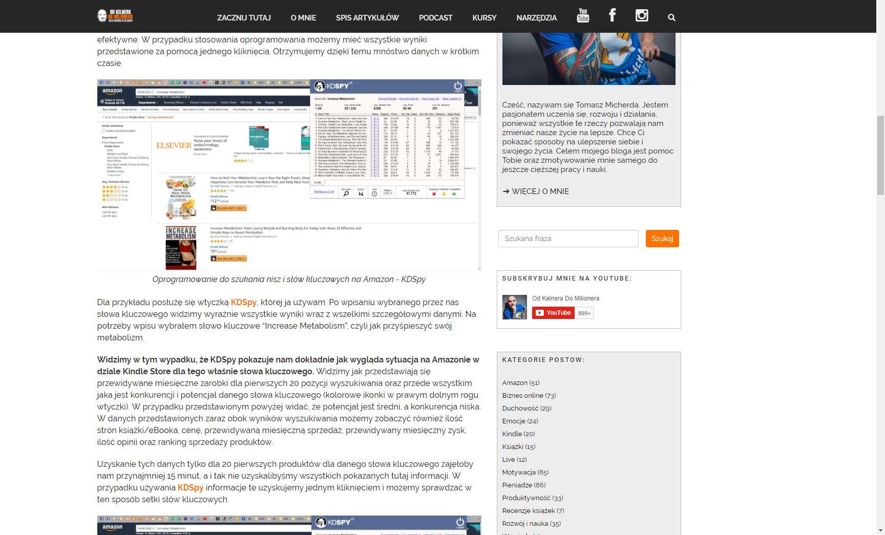 Dochód pasywny można uzyskać z afiliacji prowadząc bloga lub kanał na YouTube