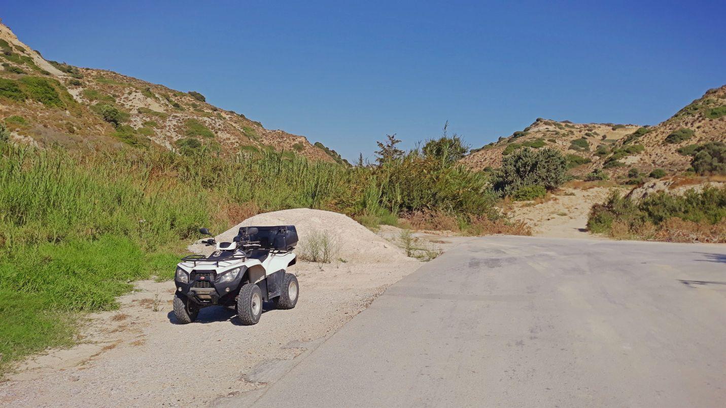 Kadr z mojej wycieczki po greckiej wyspie Kos - zawsze marzyłem, aby móc eksplorować takie miejsca