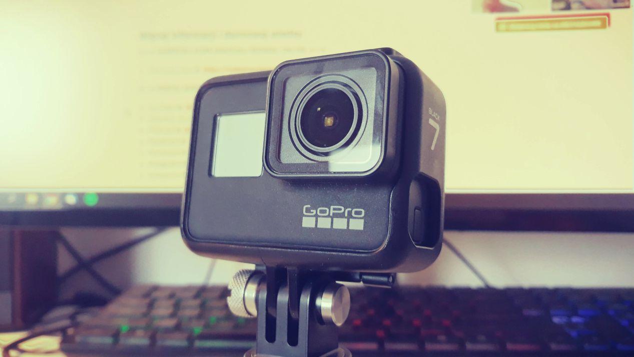 GoPro Hero 7 Black - świetnie sprawdza się zwłaszcza podczas nagrywania w terenie