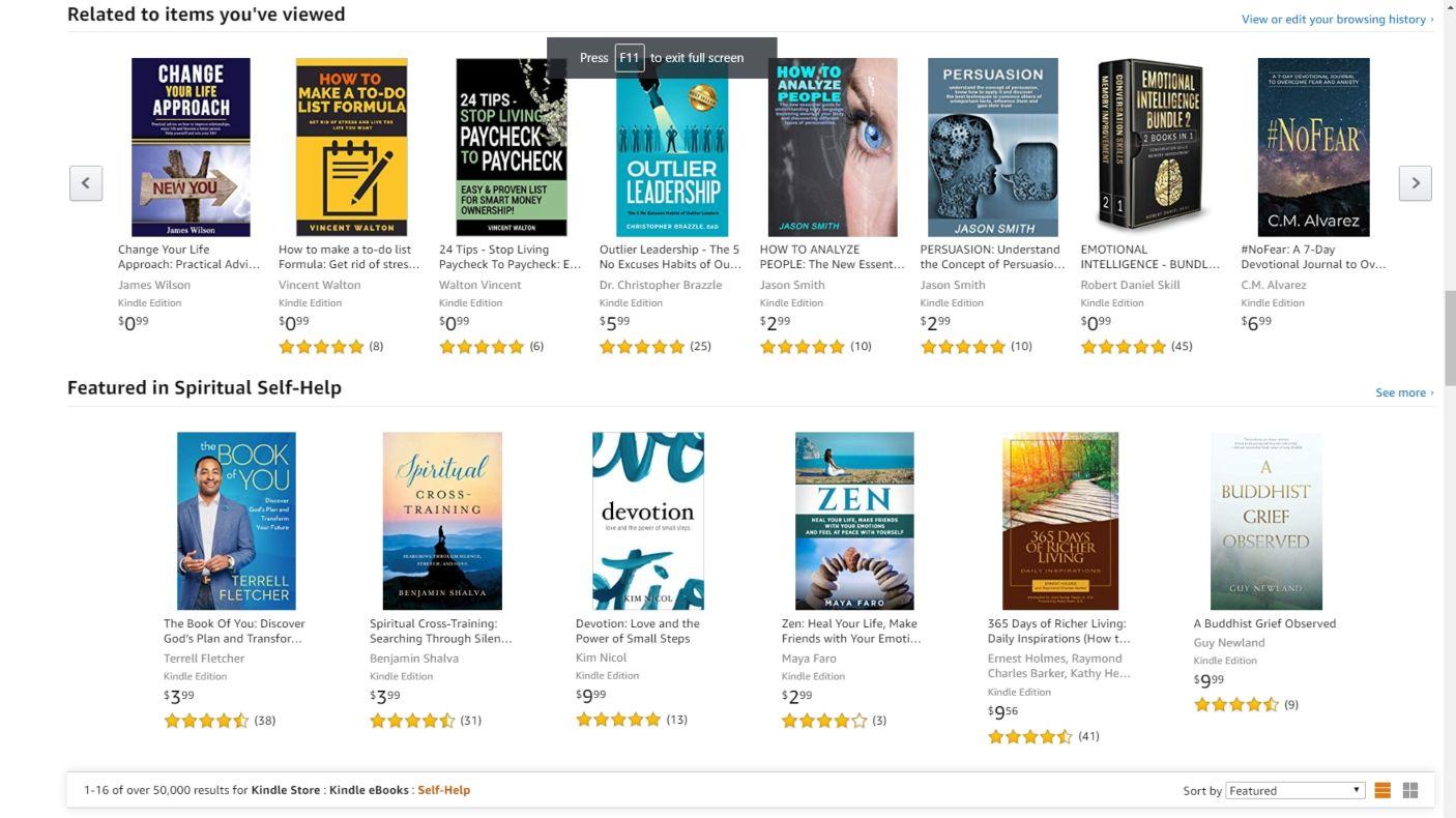 Amazon Kindle Store, czyli sklep z książkami na Amazonie