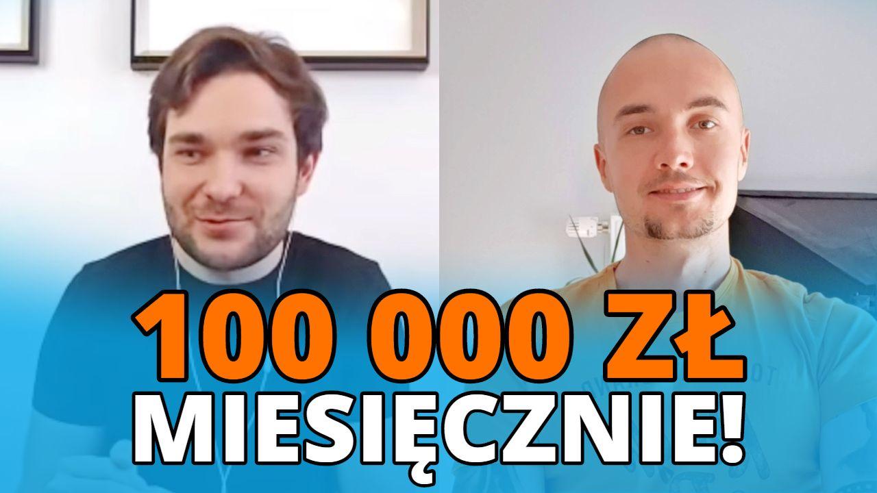 Od palenia jointów po pracy do 100 000 zł miesięcznie - Norbert Adutis i jego zmiana