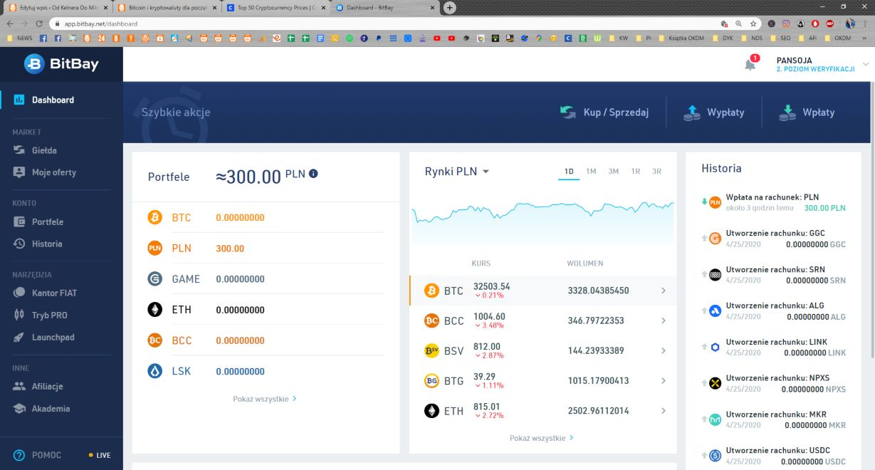 Bitbay.net - polska giełda kryptowalut