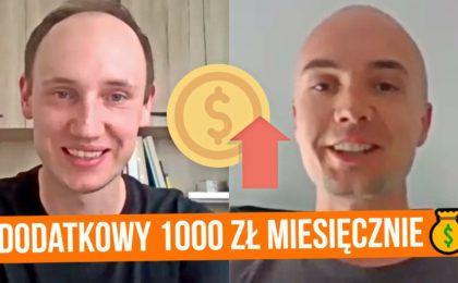 Jak zarobić dodatkowy 1000 złotych miesięcznie do etatu