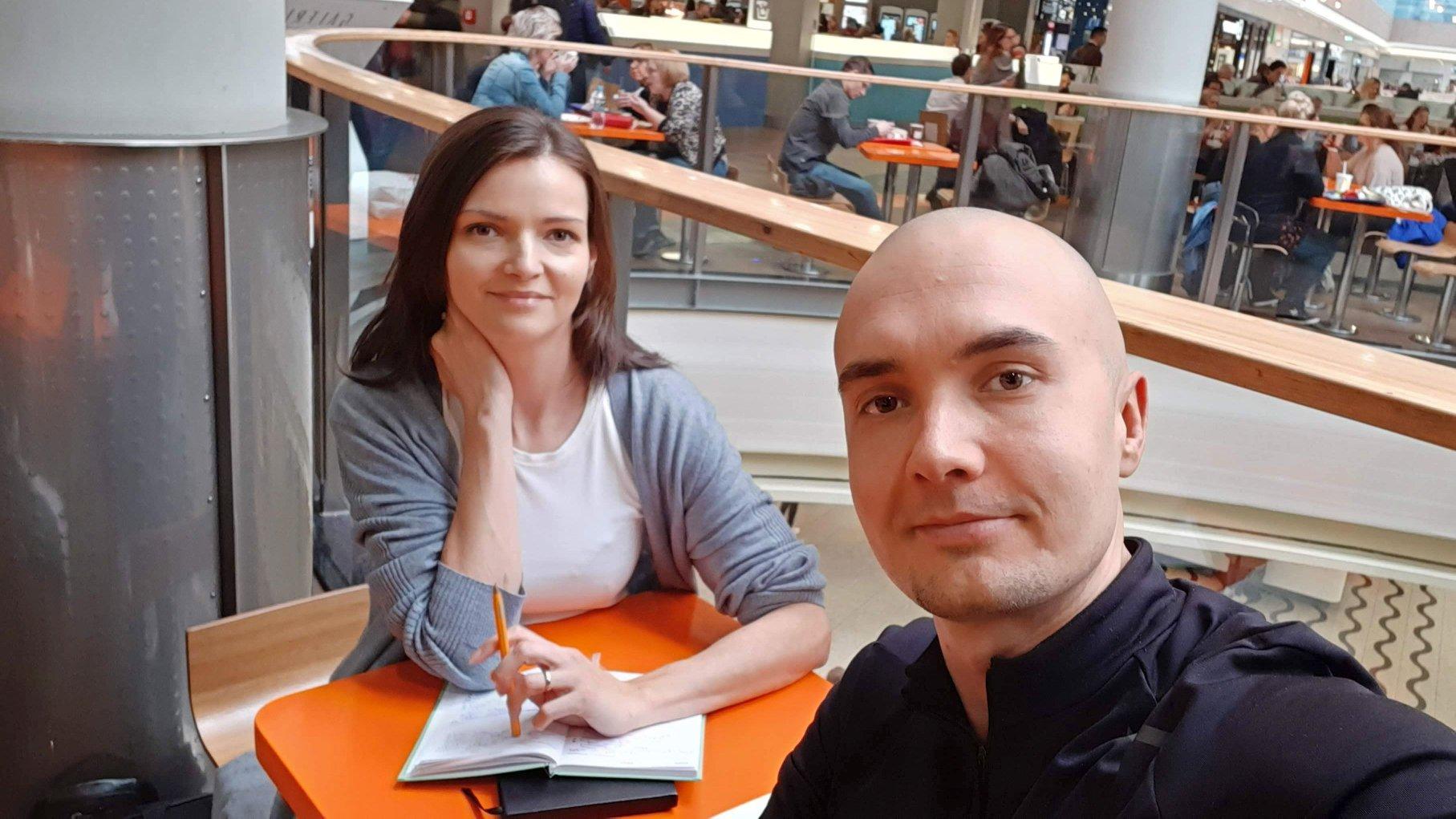 Spotkanie z Anią i kurs online Alfabet Grafika w fazie planowania