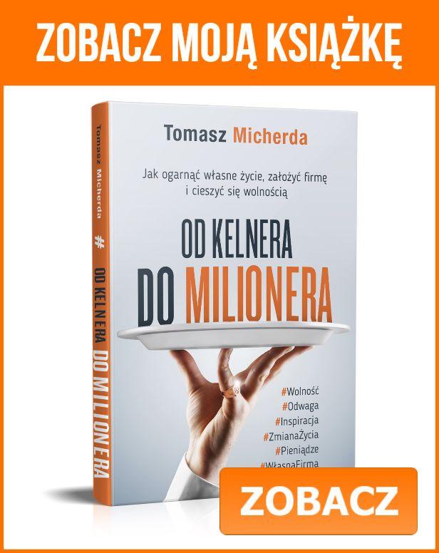 Od kelnera do milionera - książka