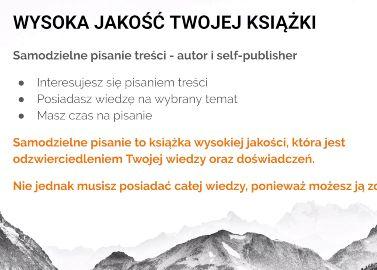 Kurs self-publishing krok po kroku - tworzenie i pisanie treści