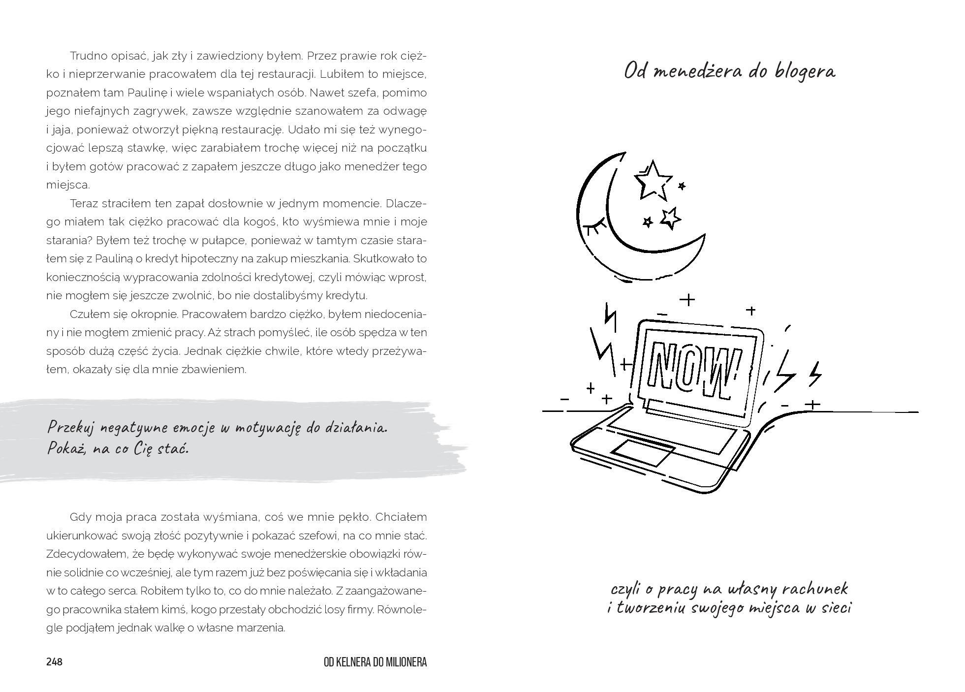 Książka Od Kelnera Do Milionera - strona 125