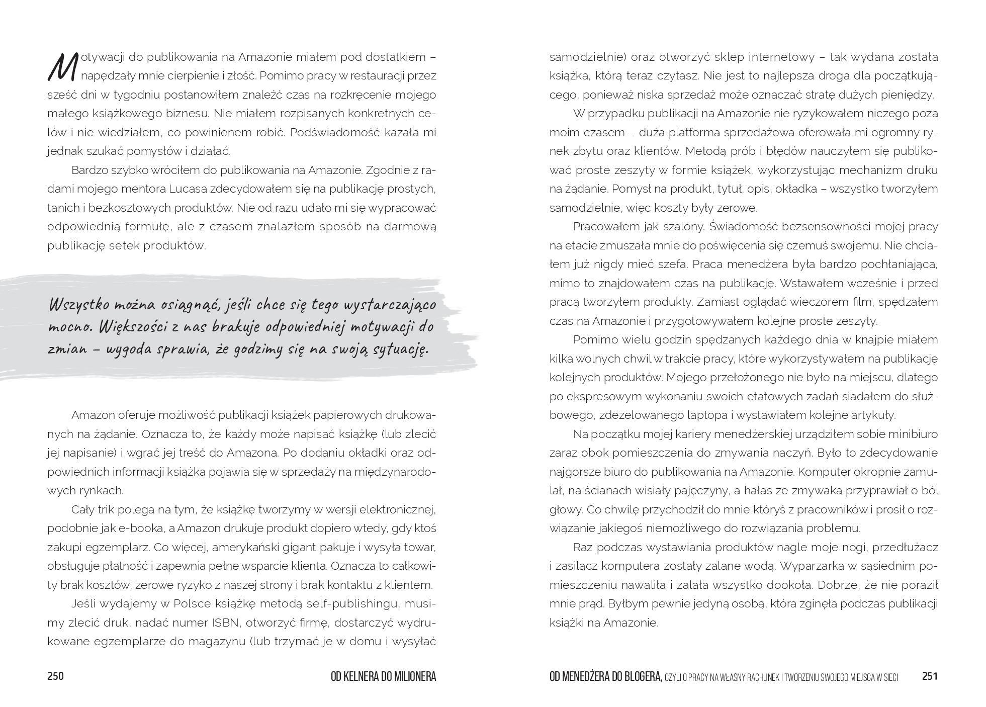 Książka Od Kelnera Do Milionera - strona 348