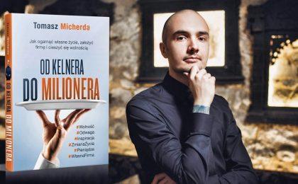 """Książka """"Od Kelnera Do Milionera"""" - przedsprzedaż"""