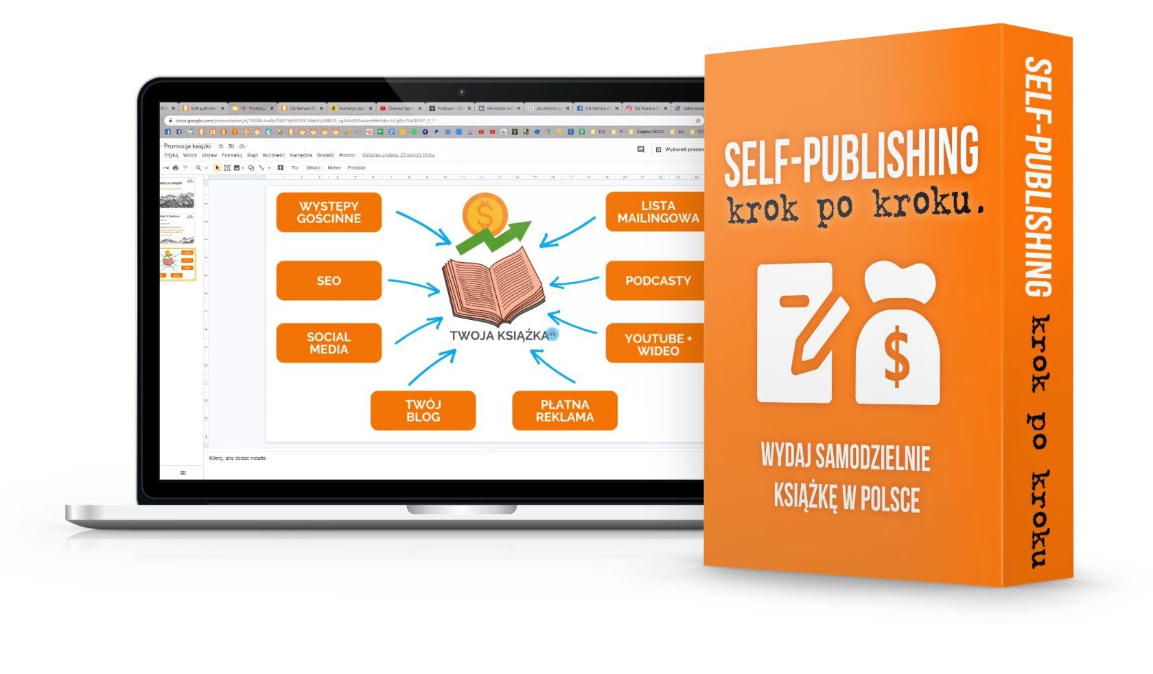 Kurs self-publishing krok po kroku