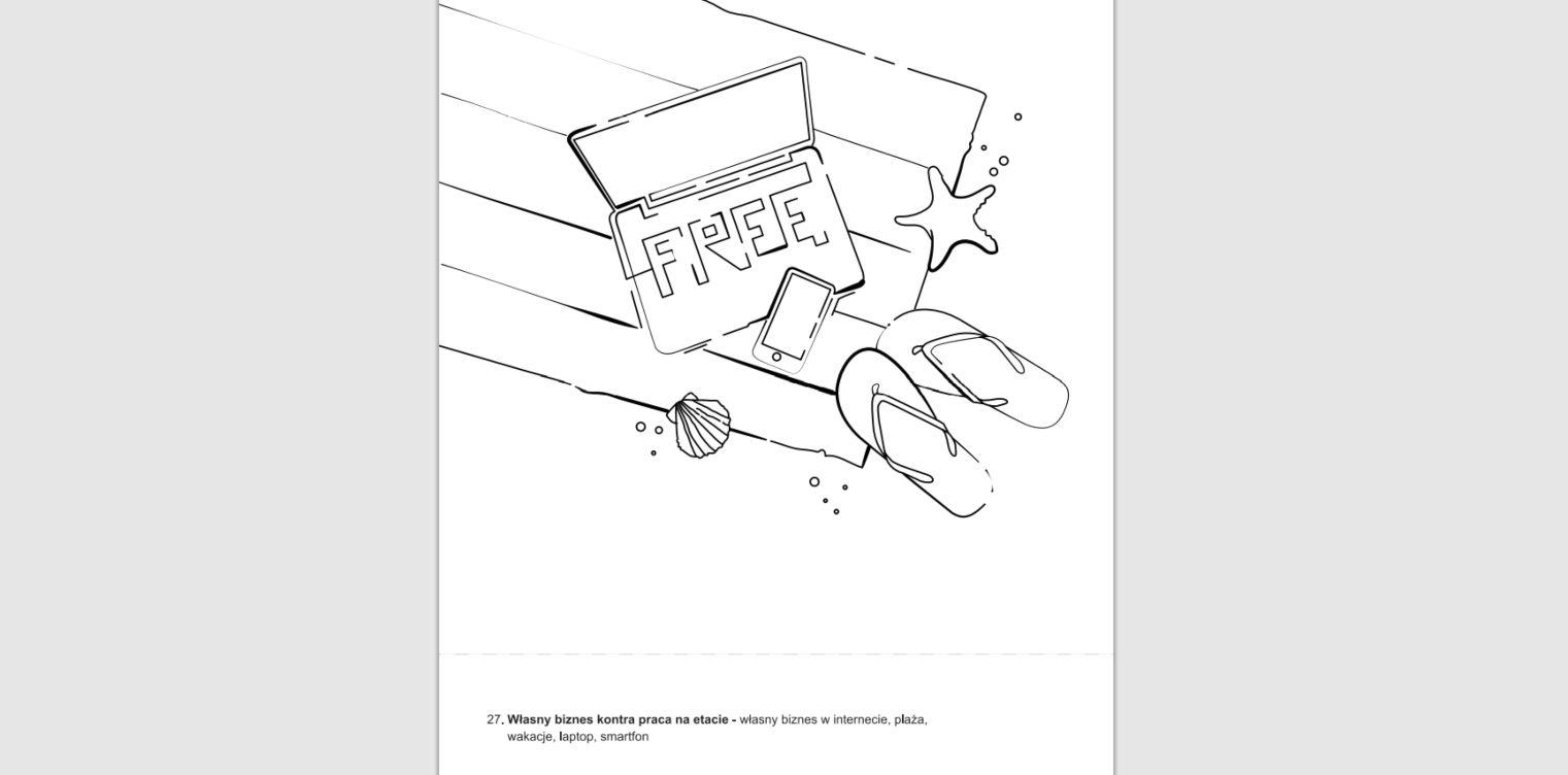 Self publishing i rysunki do własnej książki