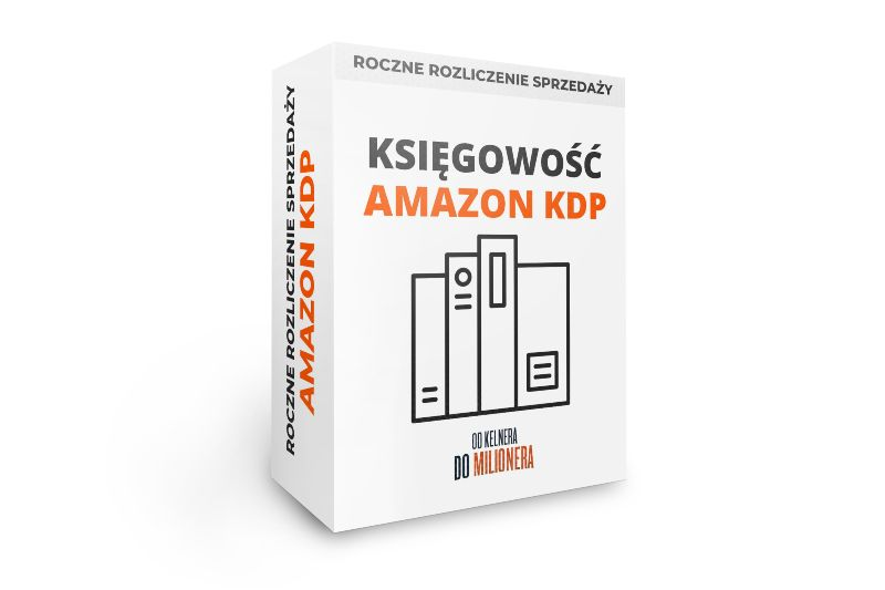 Księgowość dla Amazon KDP