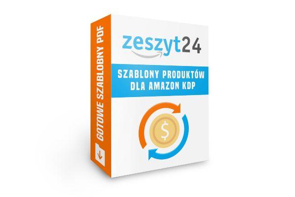 Zeszyt24 - Gotowe szablony produktów dla Amazon KDP