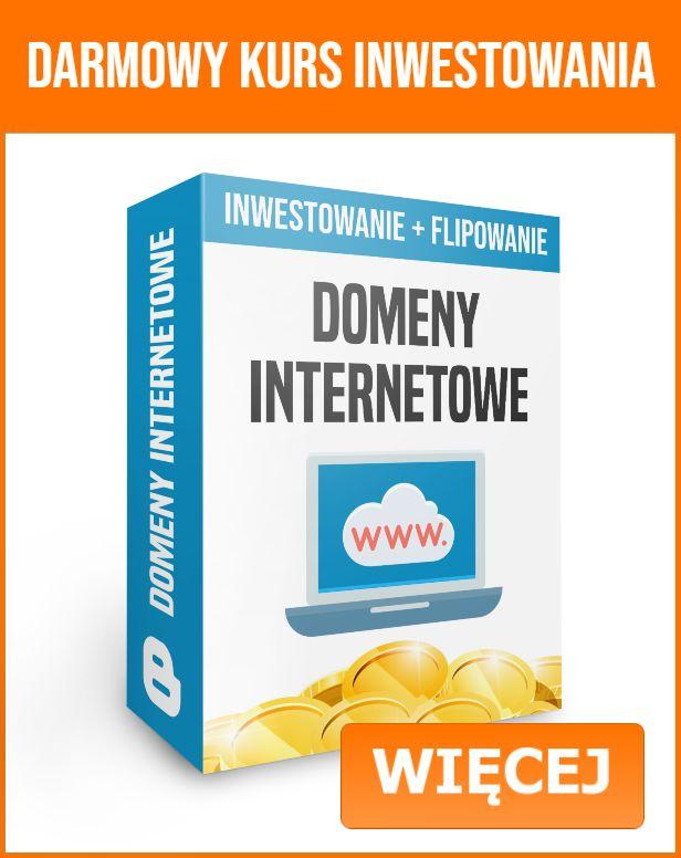 Domeny internetowe - darmowy kurs